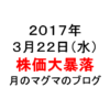 株価大暴落、1日で80万円吹っ飛んだ日