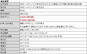 SBI債20170316