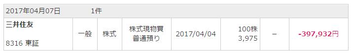 三井住友買い20170404