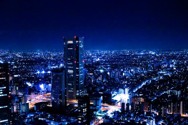 都心の夜景イメージ20170531