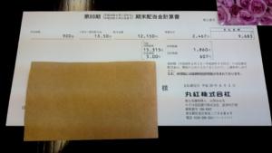 丸紅配当金支払通知書201706006
