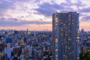 東京夕景イメージ20170807