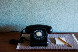 昭和の黒電話イメージ20171019