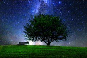 星降る夜空イメージ20171114