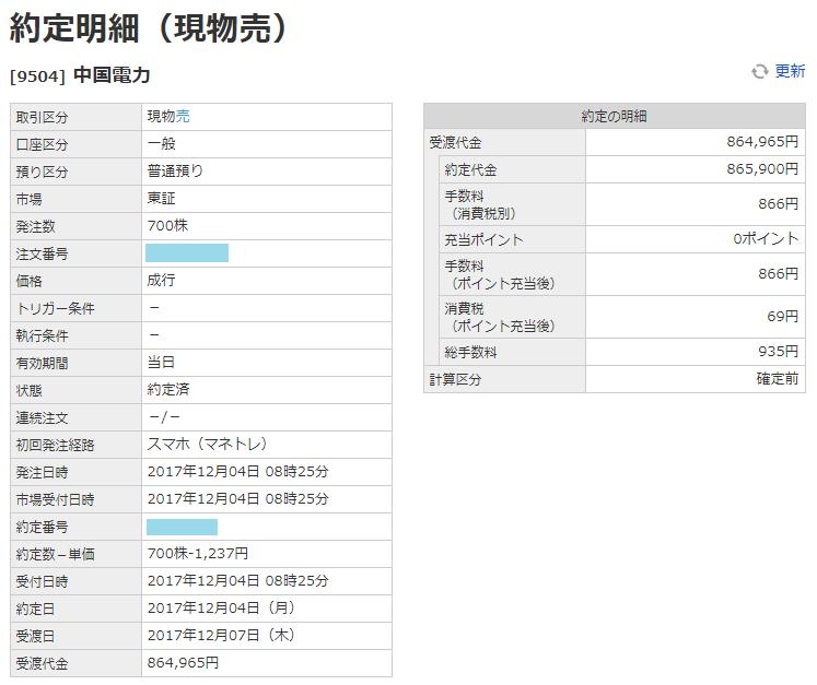 中国電力売却画面イメージ20171204