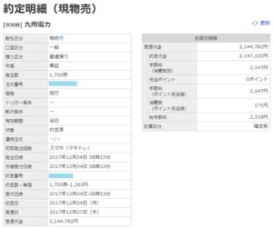 九州電力売却画面イメージ20171204