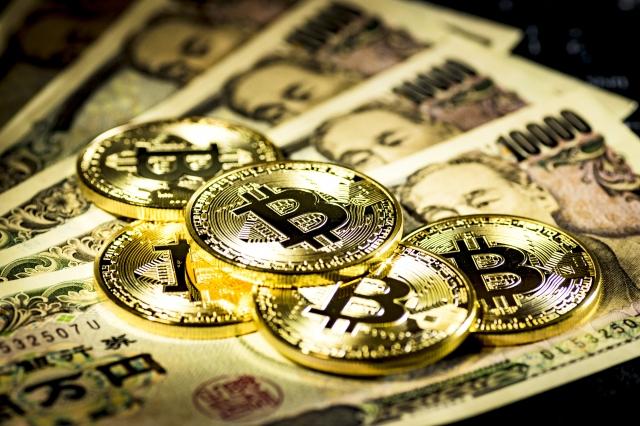 仮想通貨ビットコインと富のイメージ20180110