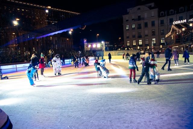 冬のスケートリンクイメージ20180216