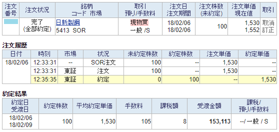 日新製鋼購入画面イメージ20180206