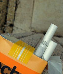 安価な銘柄のタバコイメージ20180319