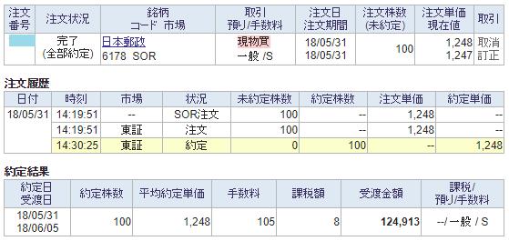 日本郵政購入画面イメージ20180531