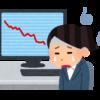 1日で56万円の資産減少、キヤノンを100株ナンピン買い