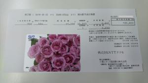 NTTドコモ配当金計算書イメージ20180621
