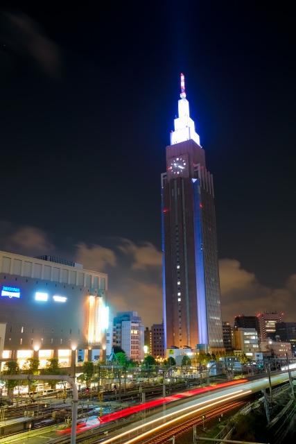 NTTドコモタワー夜景イメージ20180925