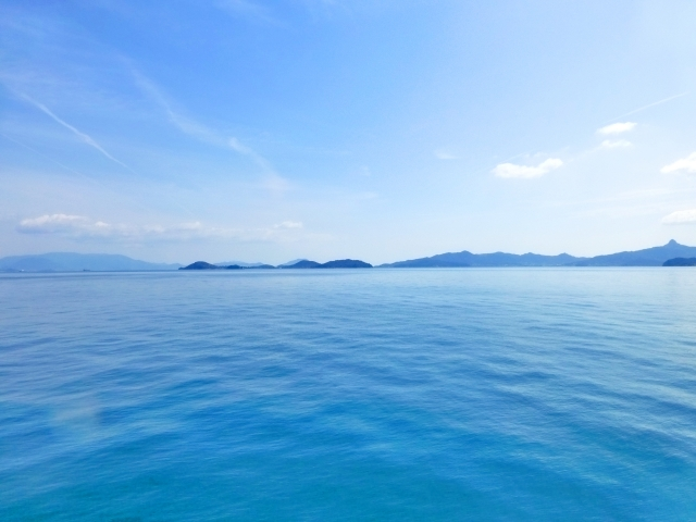 穏やかな春の海イメージ20190315