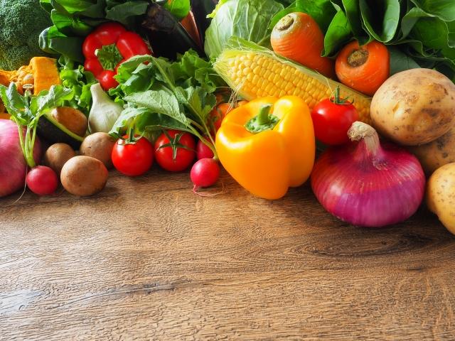 カラフルな野菜のイメージ20190412