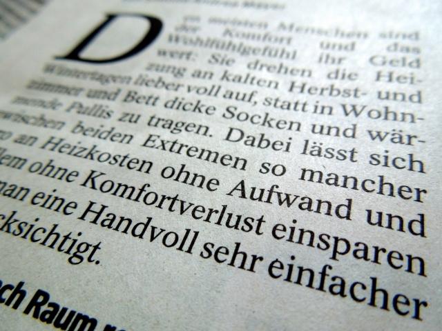 ドイツ語の紙面イメージ20190614