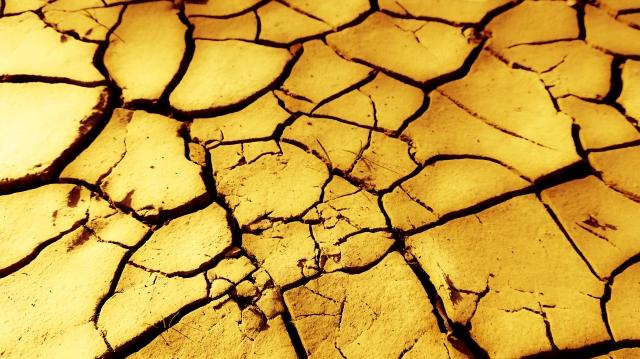 乾燥した砂漠のイメージ20200316