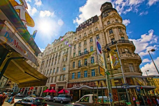ウィーンの街並み20200828