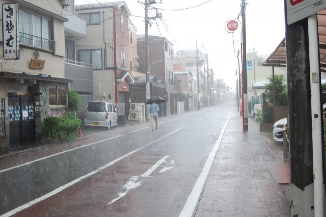 台風の街並み20200904