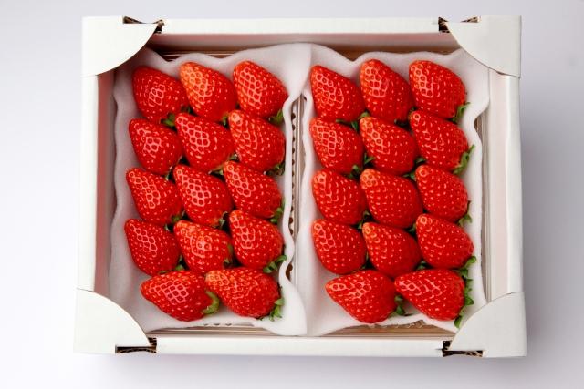 真っ赤なイチゴのイメージ20210319